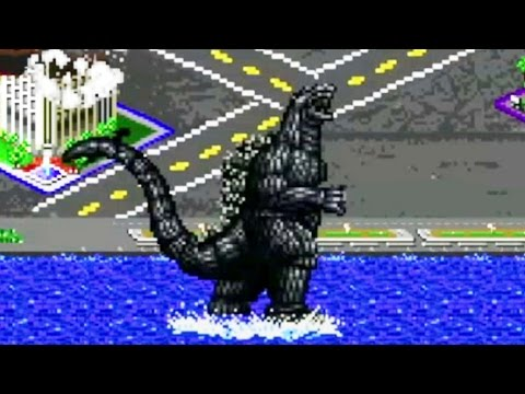 Godzilla 8-bit Video video