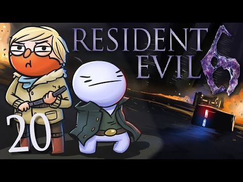 Resident Evil 6 /w Cry! [Part 20] - Clothing Optional