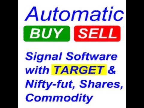 nifty Automatic Buy sell signal software intraday trading