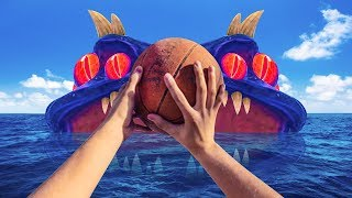 DUNKING ON A MONSTER!