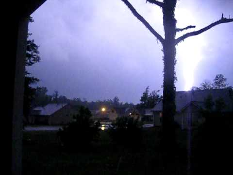 Lightning Storm in LaGrange GA.