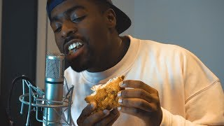 ASMR CRISPY FRIED CHICKEN EATING (SO RELAXING)