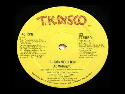 t connection at midnight disco mix 1978