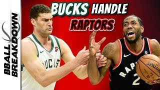 Bucks Raptors Game 2: Has Giannis Ended This Series Early?