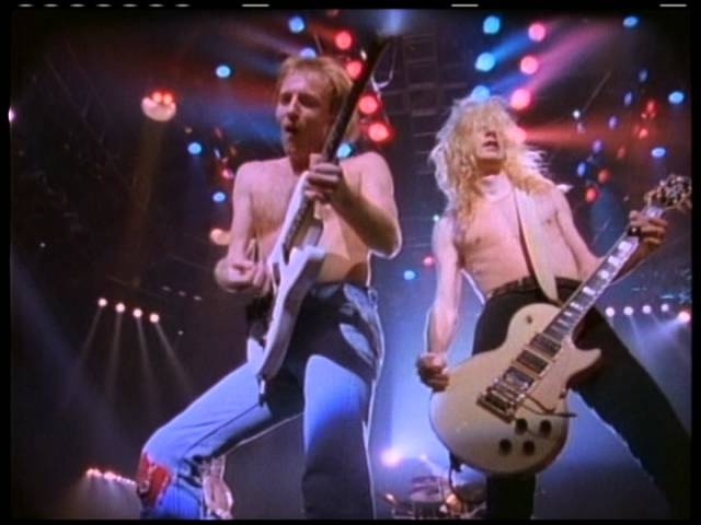 """DEF LEPPARD - """"Pour Some Sugar On Me"""" (Official Music Video)"""