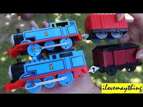 Thomas & Friends: Unboxing the NEW Re-designed Thomas Trackmaster