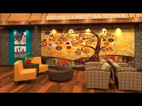 Design Concept for Foothill Christian School Gym Lobby - 11/10/2012