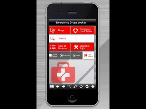 Emergency Drugs pocket app