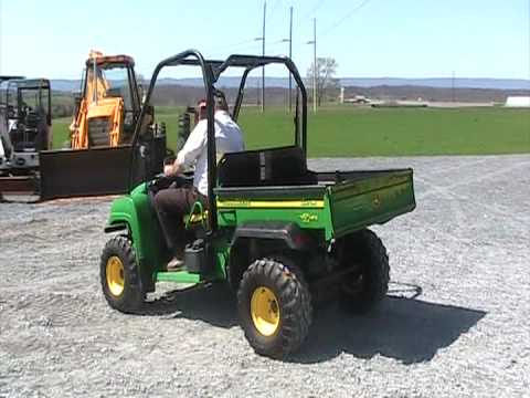 john deere gator hpx 4x4 youtube. Black Bedroom Furniture Sets. Home Design Ideas
