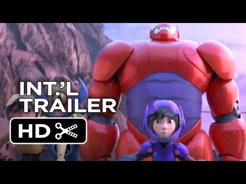 Big Hero 6 Official Portuguese Trailer (2014) - Disney Animation Movie HD