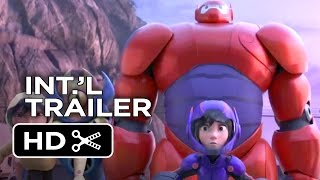 Big Hero 6 Official Portuguese Trailer (2014) - Disney Animation Movie HD