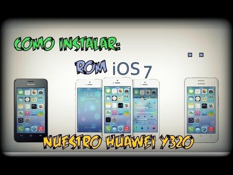 Rom de iPhone para Huawei y320-U151 ◢◤ [iOS 7 ROM]