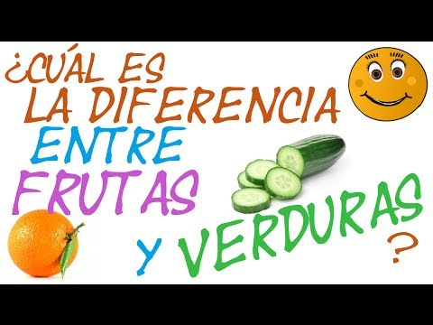 Diferencia entre fruto y fruta