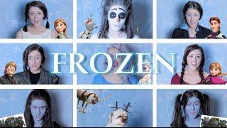 One Woman Frozen Medley | Georgia Merry