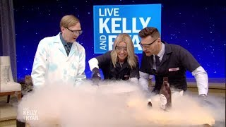 Liquid Nitrogen Ice Cream and more Fun Experiments with Science Bob