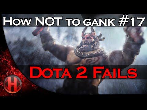 Dota 2 Fails  How NOT to gank 17