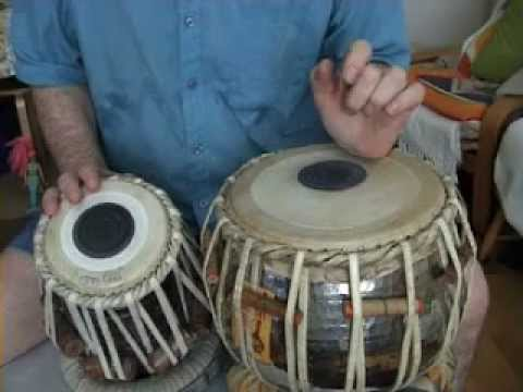White India - Tabla Lesson 1 - Kaida, Tehai & Chakradar & How To Bend The Bayan Technique video