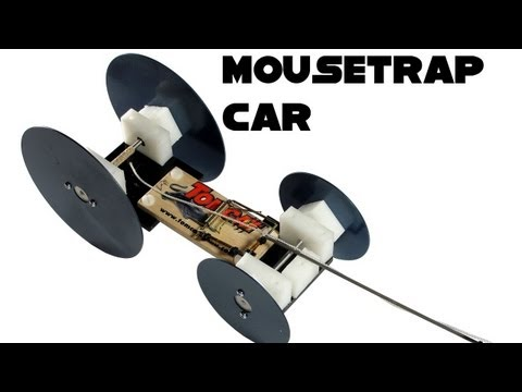 how to build a mousetrap car out of legos