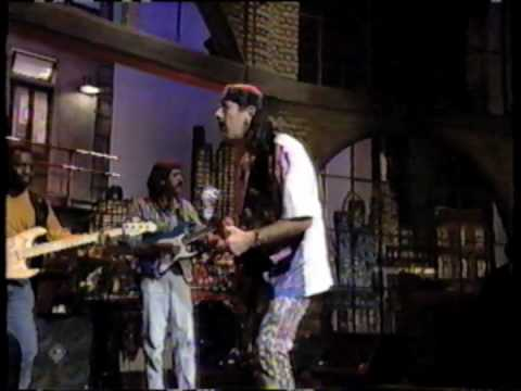 Santana Brothers on The Late Show with David Letterman (11/15/94)