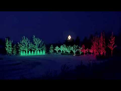 Crazy Christmas Holiday Home Light Show 2 - Carol of the Bells