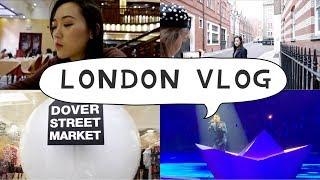 London VLOG | 张学友演唱会 带你逛DSM 伦敦地道早茶 逛街