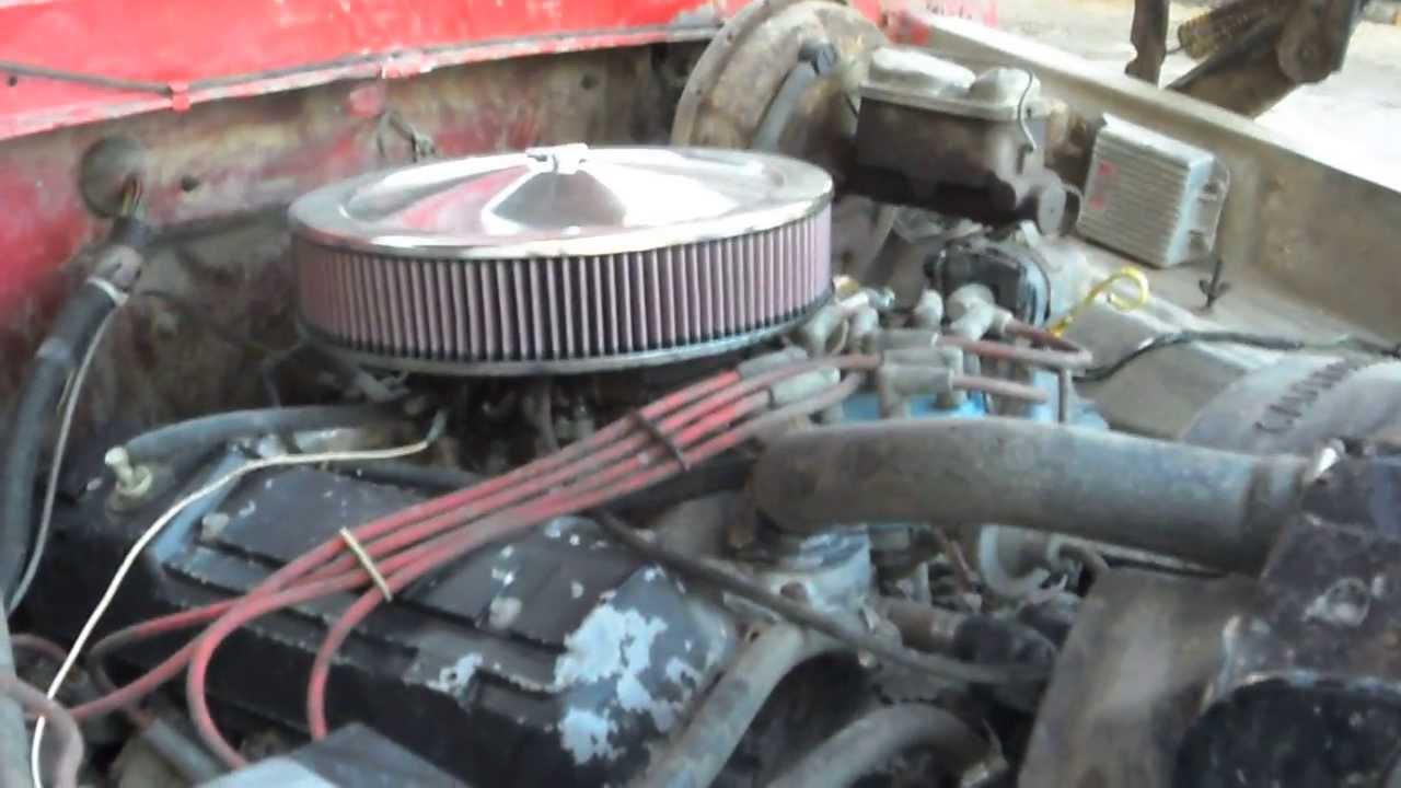 1977 Ford F250 460 big block - YouTube