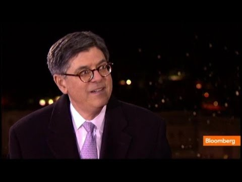 Jack Lew: U.S. Economy Has `Tail Winds' This Year