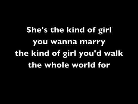 Wanna love you girl - Robin Thicke Pharrel (lyrics video)