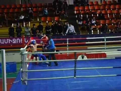 Armenia Kick Boxing Vahe Baghdasaryan