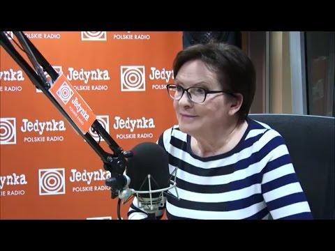 Ewa Kopacz: PO jest dziś wyjątkowo potrzebna Polsce (Jedynka)