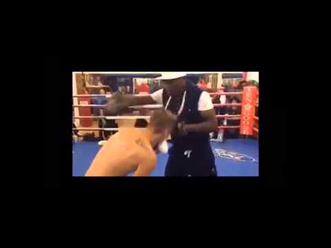 Justin Biebers Training with Floyd Mayweather | fighting skills