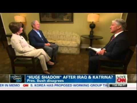 George W. Bush intv w/ CNN's John King (4/24/2013)