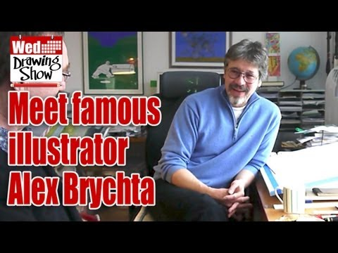 Interview with World Famous Illustrator Alex Brychta - Oxford Reading Tree