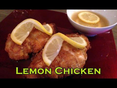 Recipe of Lemon chicken