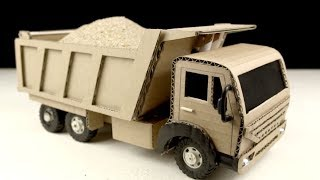 How to make Tata Dump Truck - Amazing Truck Toy