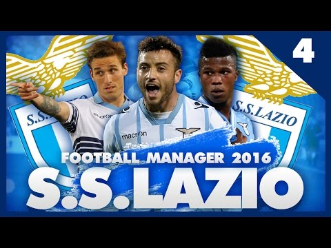 FOOTBALL MANAGER 2016 LET'S PLAY | Lazio #4 | Juventus, PSV & Inter