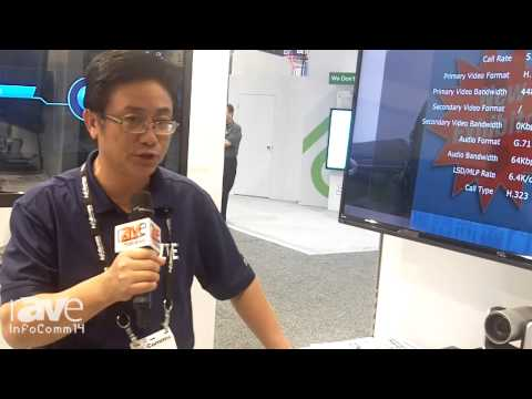InfoComm 2014: ZTE Shows its T800A Video Conferencing System