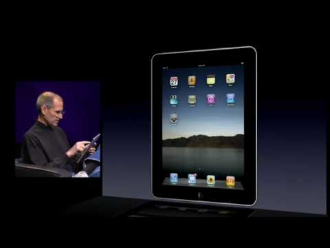 iPad Introduction - Apple Special Event January 27th, 2010 - Part 3 of 10