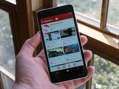 Microsoft Lumia 535 Прошивка на Андроид - YouTube
