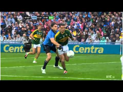 Dublin Goal Chance Off the Post :Dublin vs Kerry All Ireland Football Final 2015