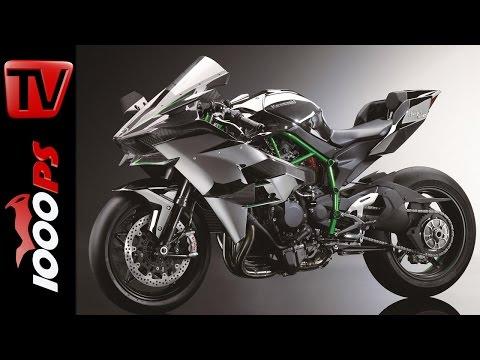 Kawasaki Ninja H2R 300 PS | Walk Around+Specs-Live Pictures