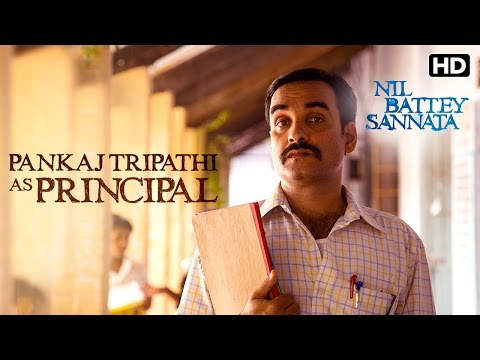 Pankaj Tripathi As Principal & Maths Teacher | Making Of The Film | Nil Battey Sannata