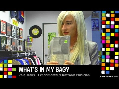 Zola Jesus - What's In My Bag?