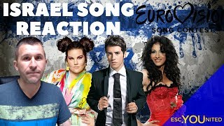 Israel in Eurovision: All songs from 1973-2018 - Reaction