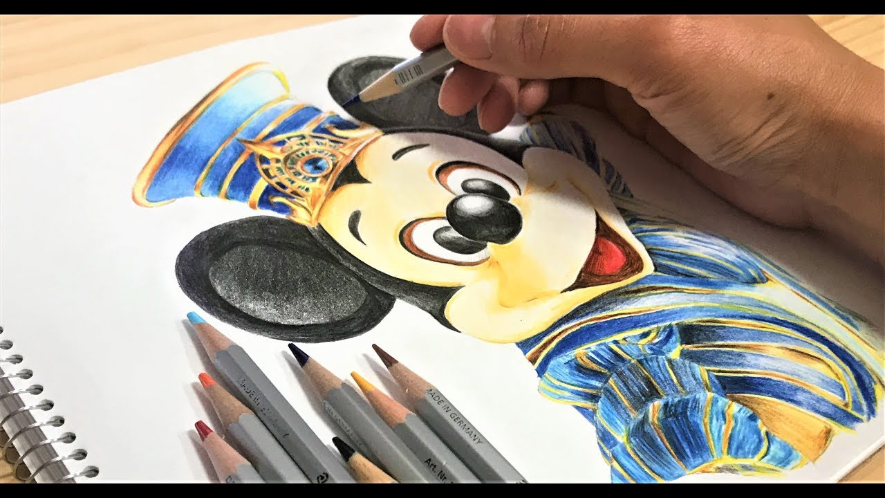 塗り絵 ディズニー ミッキー