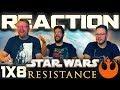 Star Wars Resistance 1x8 REACTION!!