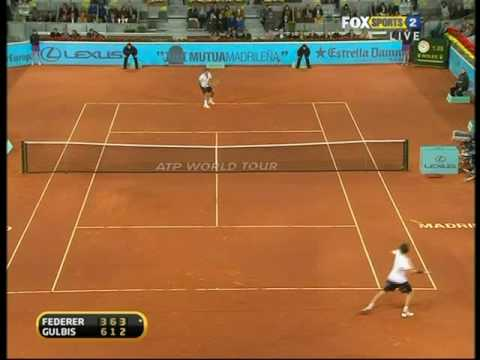 Madrid 2010: QF Roger v Gulbis (Highlights Part 2)