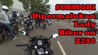 #046 SUNMORI Galau - Crazy Lady Biker Z250 & Pemberitahuan Singkat!