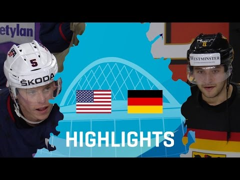 USA - Germany | Highlights | #IIHFWorlds 2017