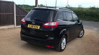 2016 FORD GRAND C-MAX 1.0 ZETEC FOR SALE | CAR REVIEW VLOG